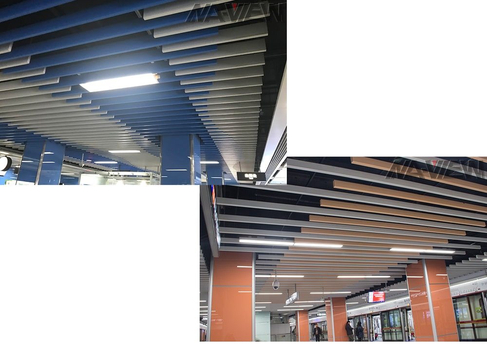 linear ceiling system 1